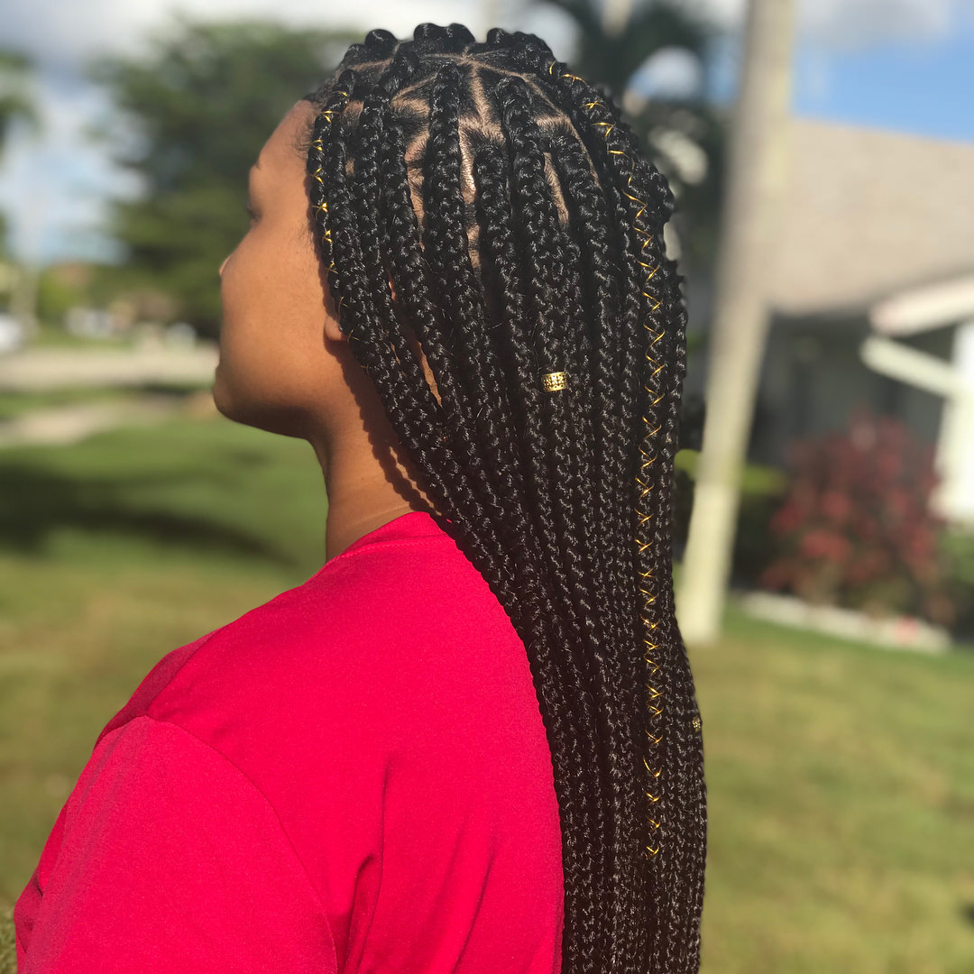 162 Banging Braid Hairstyles To Try Pertaining To Well Liked Wrap Around Triangular Braided Hairstyles (Gallery 15 of 20)