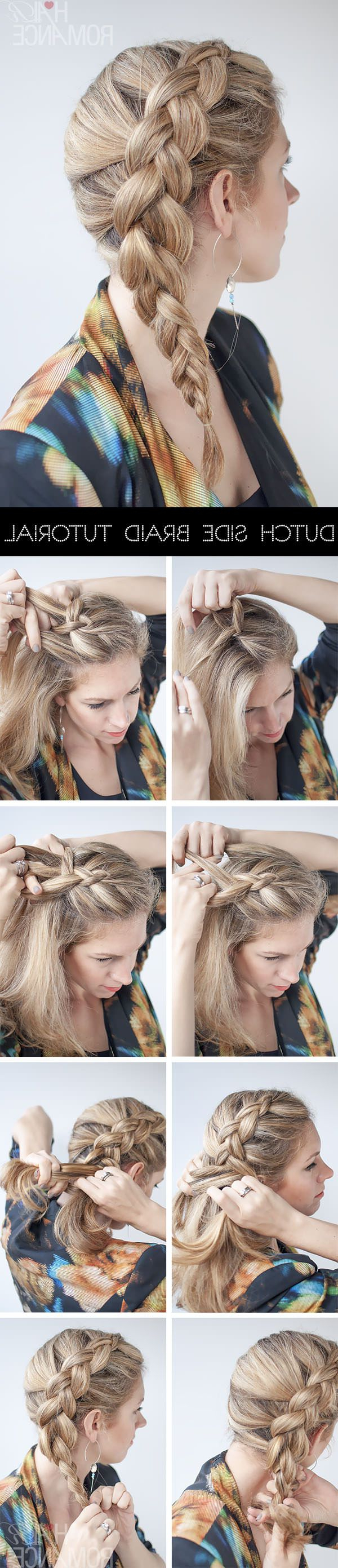 17 Stunning Dutch Braid Hairstyles With Tutorials – Pretty Intended For Preferred Side Dutch Braided Hairstyles (Gallery 7 of 20)