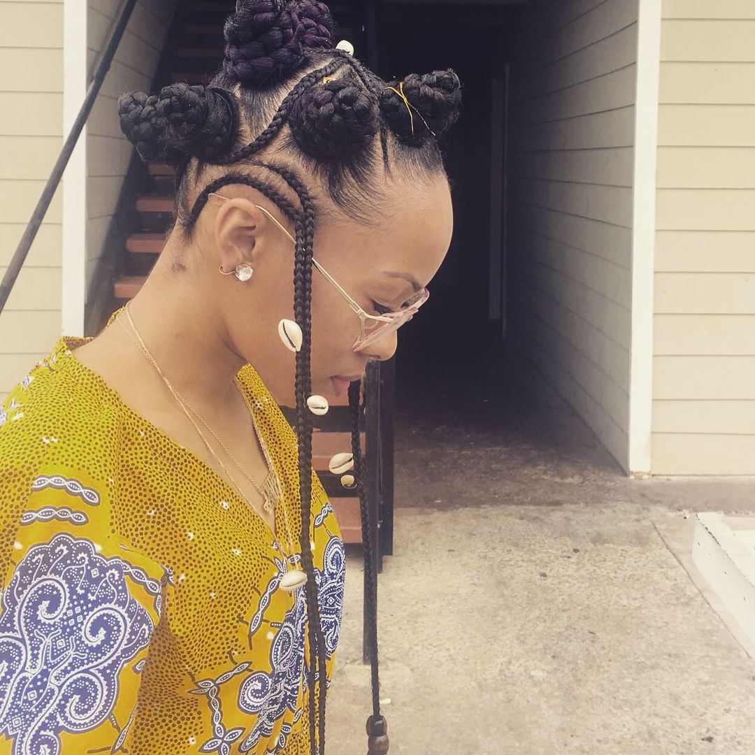 17 Stunning Hairstyles That Will Inspire Your Next Look Within Newest Bantu Knots And Beads Hairstyles (Gallery 19 of 20)