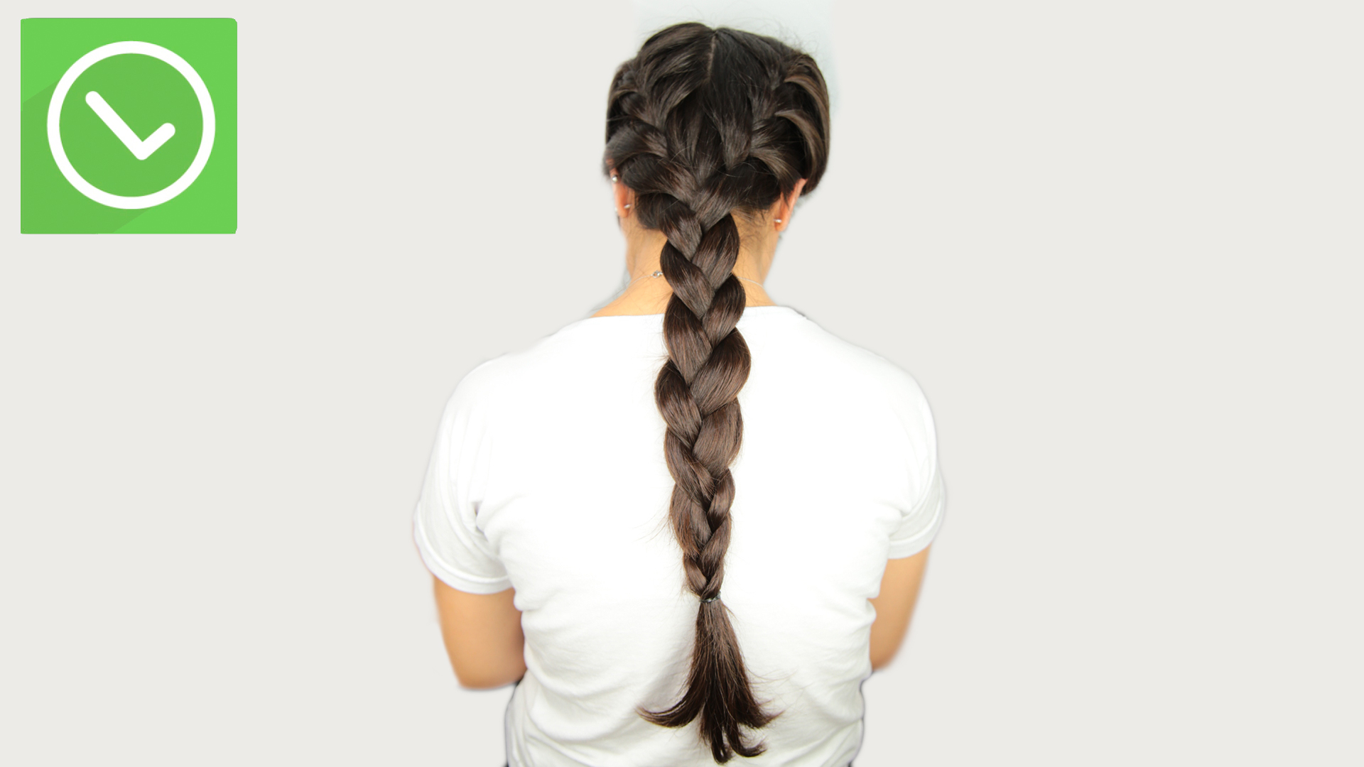 2 Simple Ways To Do Double French Braids – Wikihow Inside Famous Thick Two Side Fishtails Braid Hairstyles (View 6 of 20)