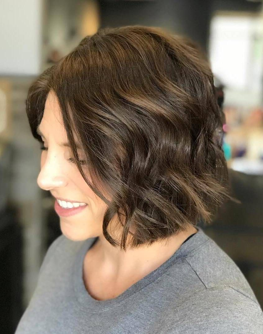20 Cute Bob Haircuts For Women To Look Charming – Haircuts With Famous Tiny Twist Hairstyles With Caramel Highlights (View 1 of 20)