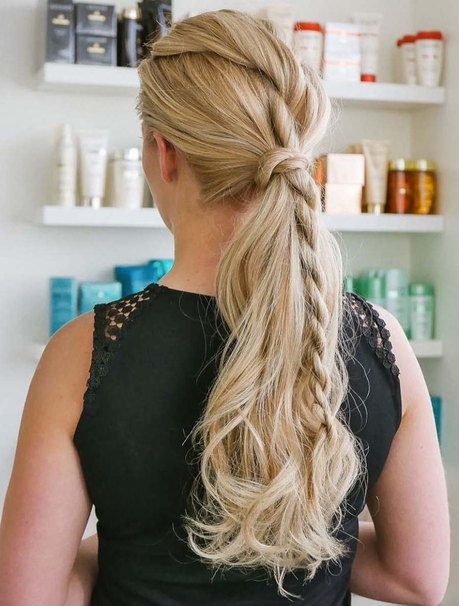 20 Inspiring Ideas For Rope Braid Hairstyles (View 15 of 20)
