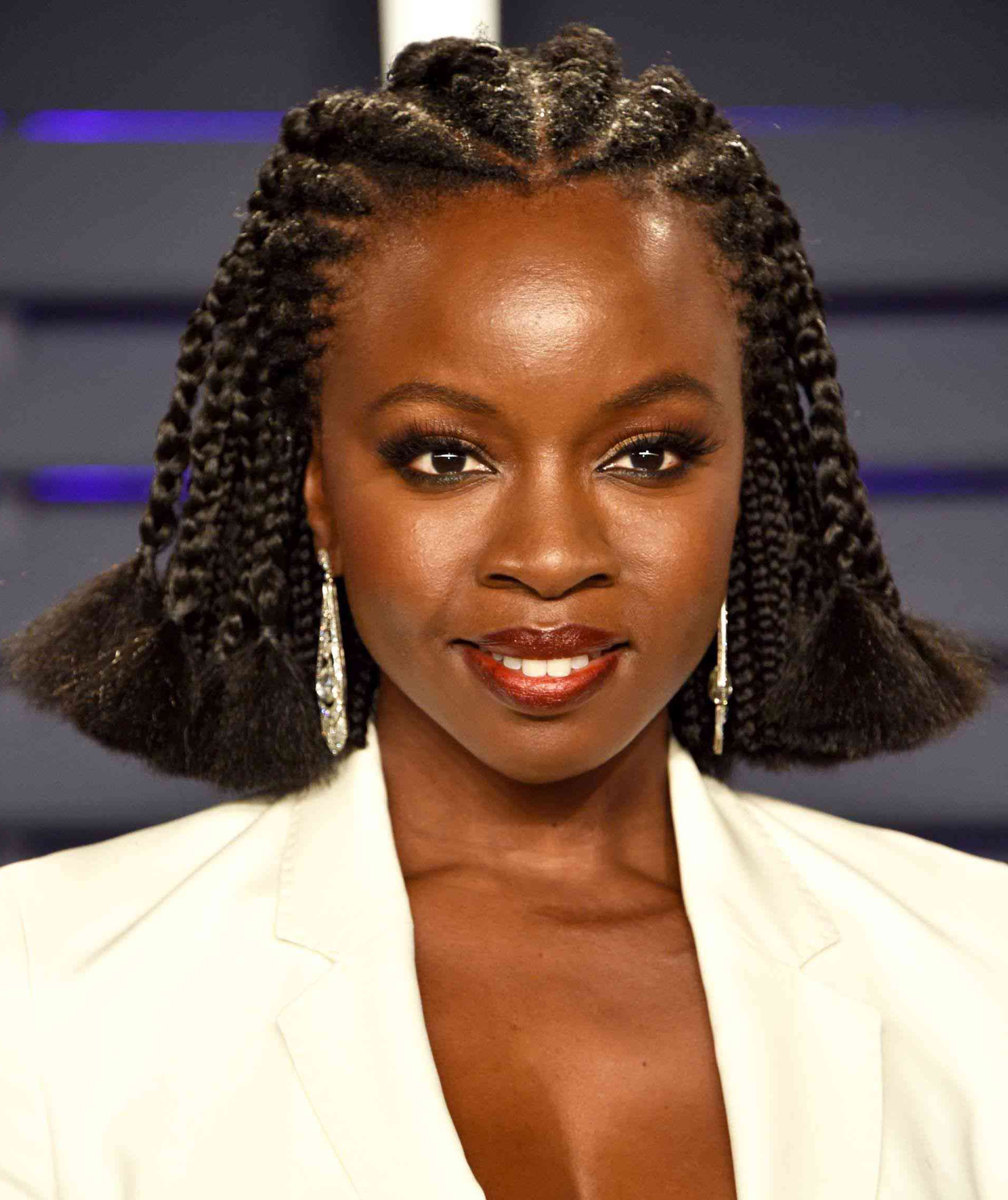 20 Stunning Braided Hairstyles For Natural Hair With Regard To Well Known Angled Braided Hairstyles On Crimped Hair (View 6 of 20)