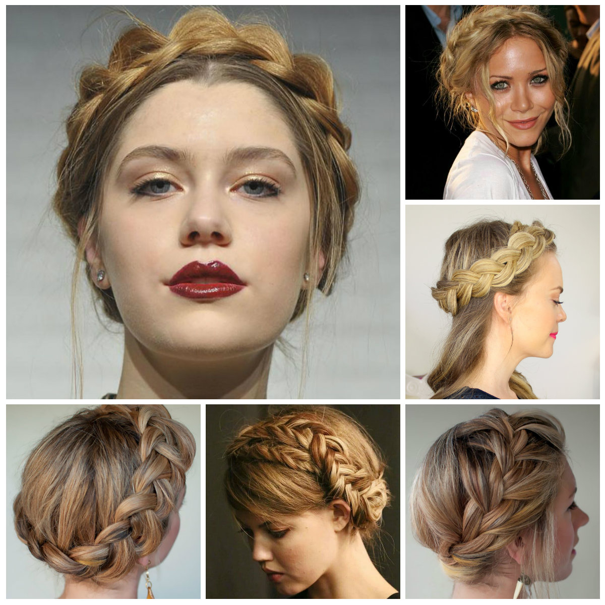 2016 Popular Crown Braid Hairstyle Ideas (View 16 of 20)
