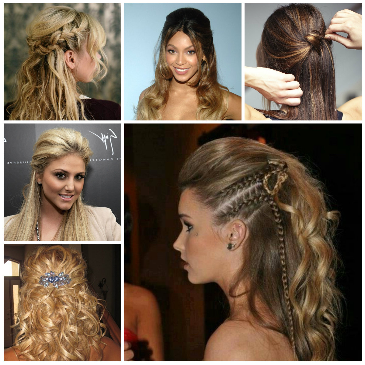 2016 Semi Updo Hairstyle Ideas (View 16 of 20)