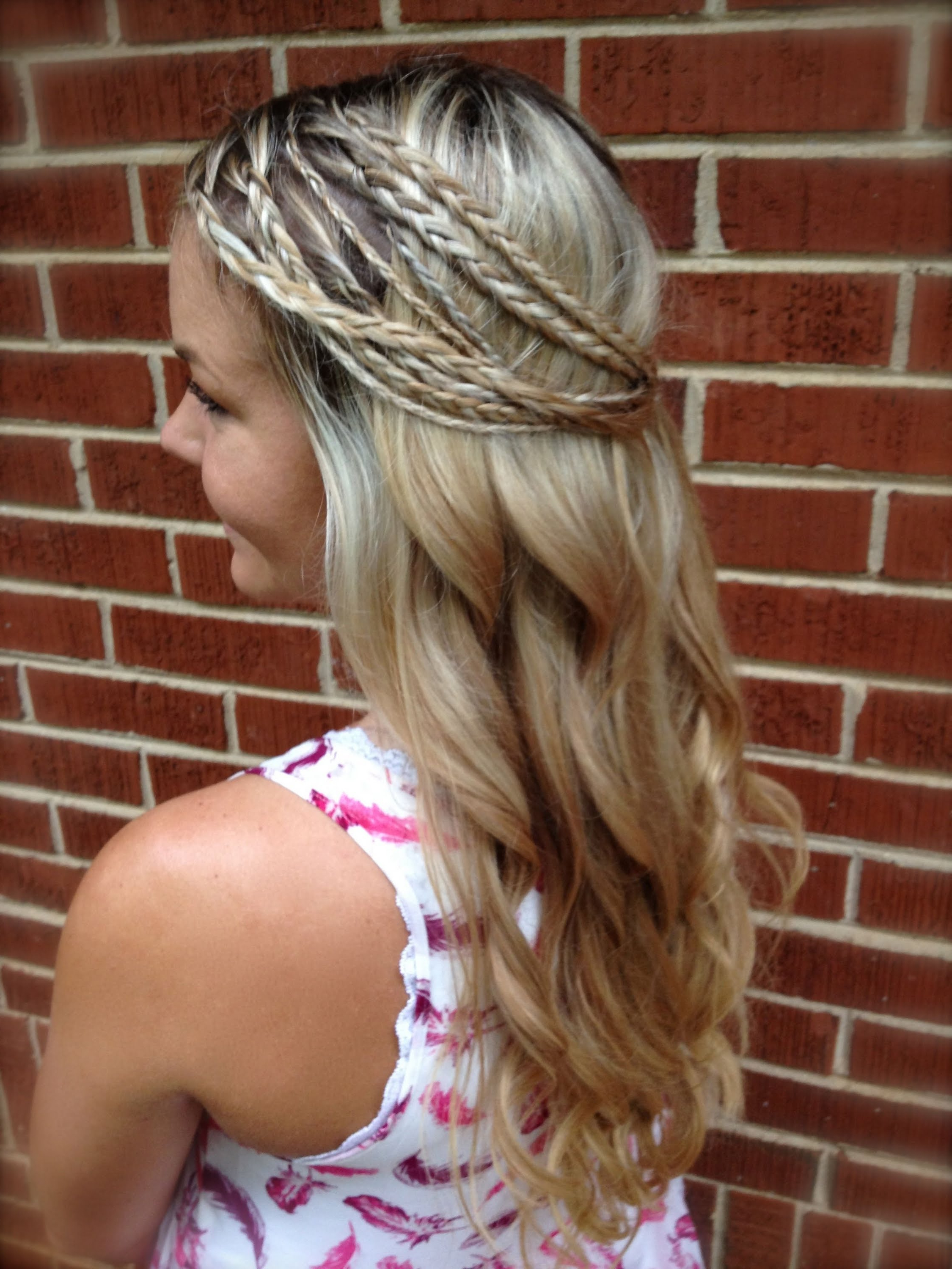 2019 Boho Half Braid Hairstyles In 55+ Trendy Head Turning Boho (Bohemian) Hairstyles For All (View 16 of 20)