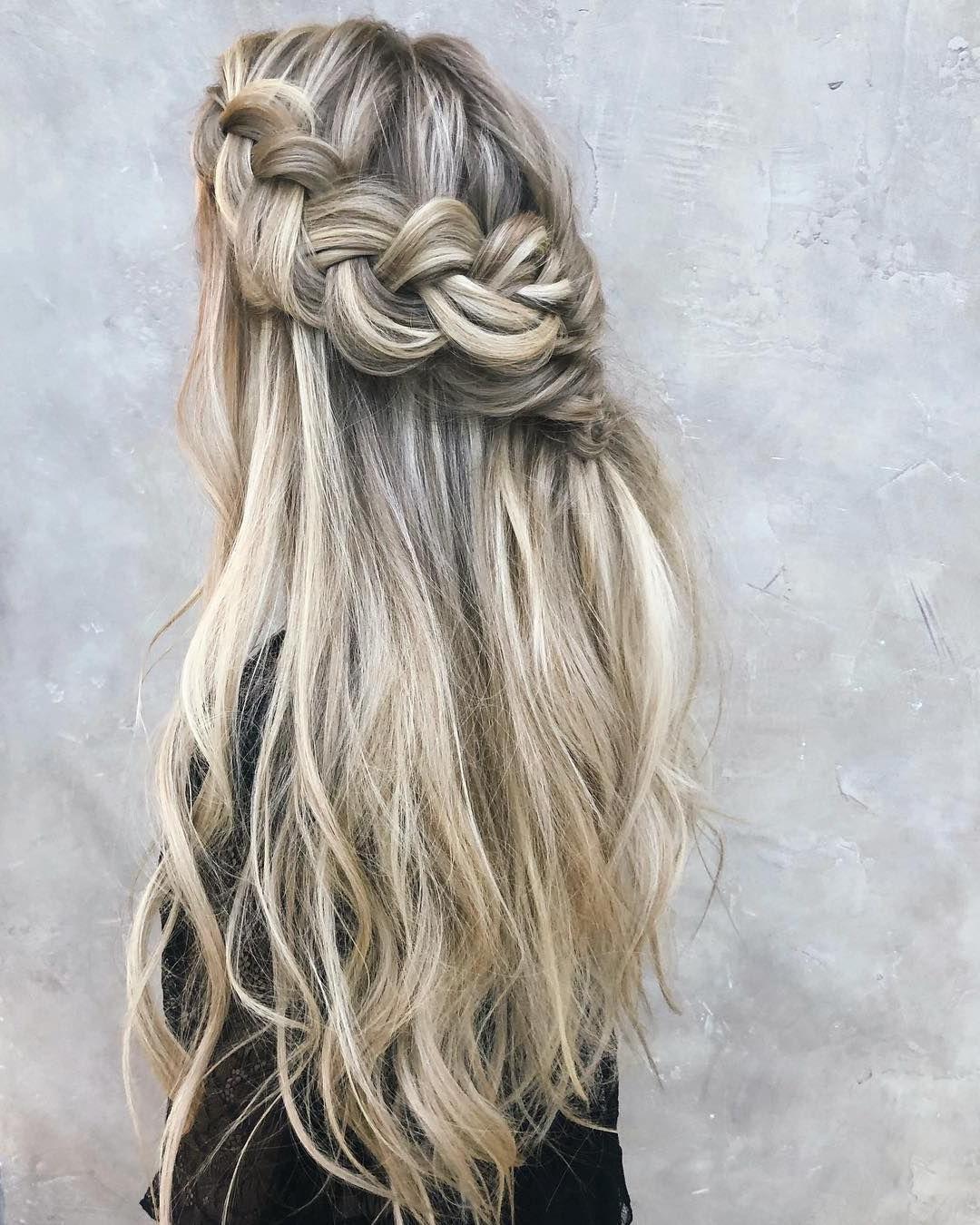 2019 Boho Half Braid Hairstyles With Regard To 49 Boho Braid Hairstyles To Try – Blonde Hair + Big Braid (View 17 of 20)