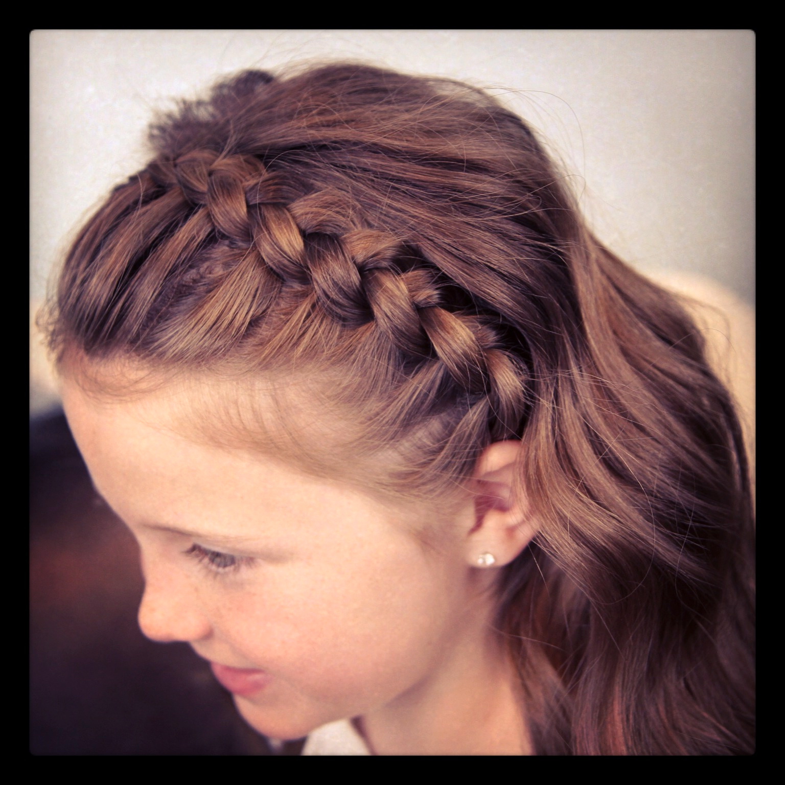 2019 Braided Headband Hairstyles For Curly Hair For Dutch Lace Braided Headband (View 18 of 20)