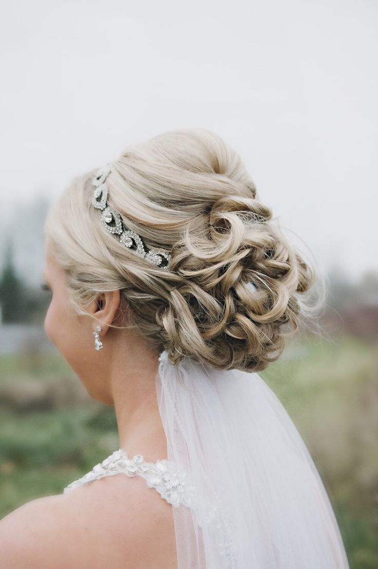 2019 Ethereal Updo Hairstyles With Headband Throughout 25 Most Coolest Wedding Hairstyles With Headband – Haircuts (View 10 of 20)