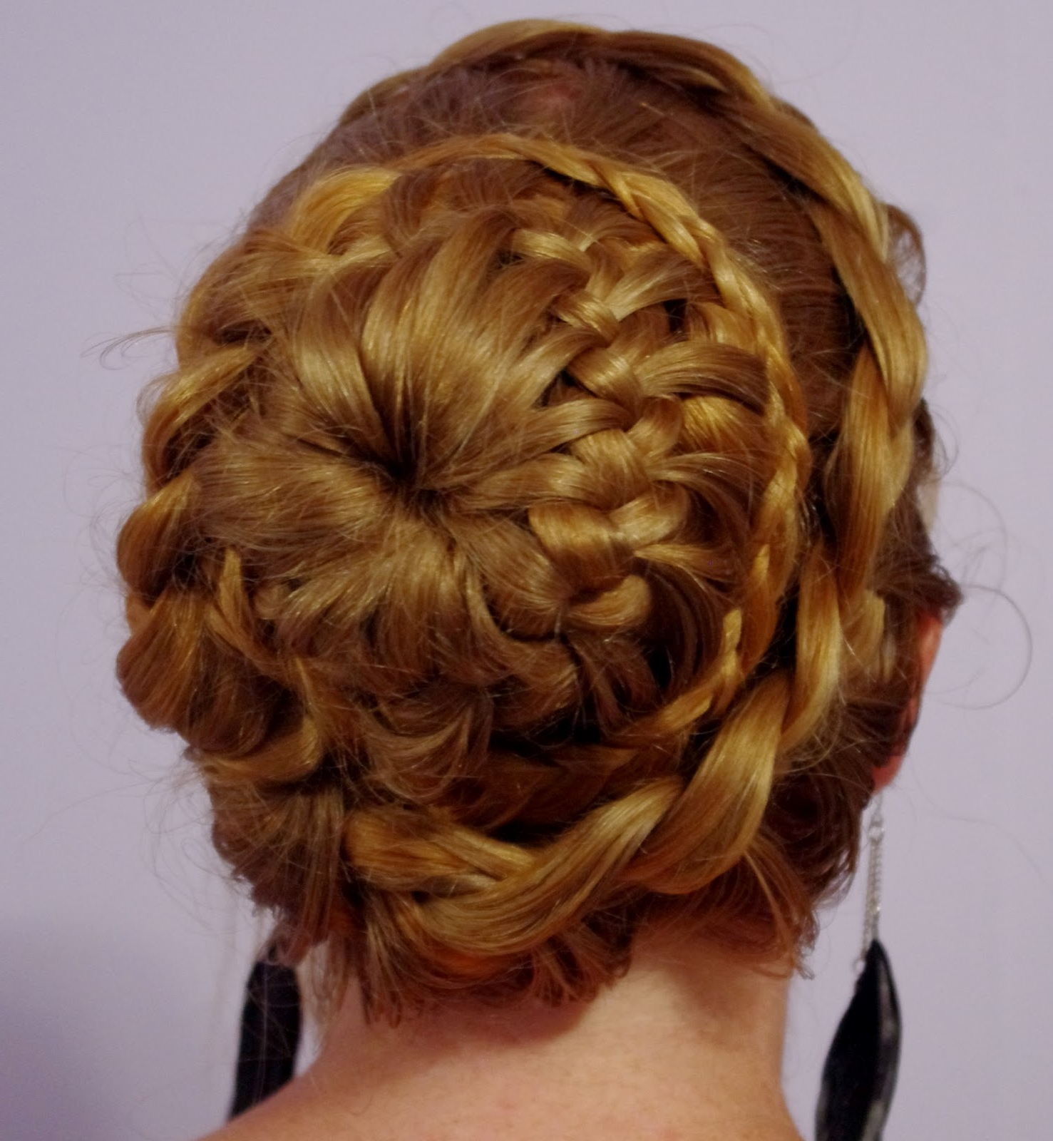 2019 Fancy Braided Hairstyles Intended For Braids & Hairstyles For Super Long Hair: Fancy Braided Bun (View 9 of 20)