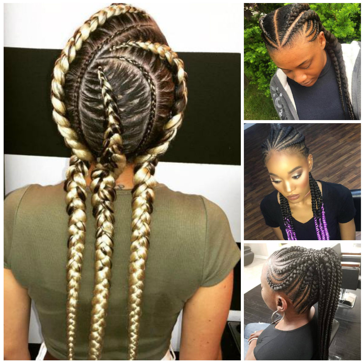 2019 Haircuts, Hairstyles And Regarding Well Liked Blonde Asymmetrical Pigtails Braid Hairstyles (View 4 of 20)
