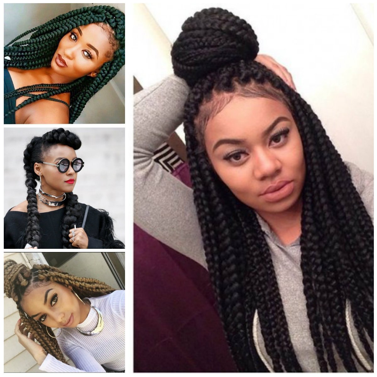 2019 Haircuts, Hairstyles And With Regard To Best And Newest Half Up Box Bob Braid Hairstyles (View 3 of 20)