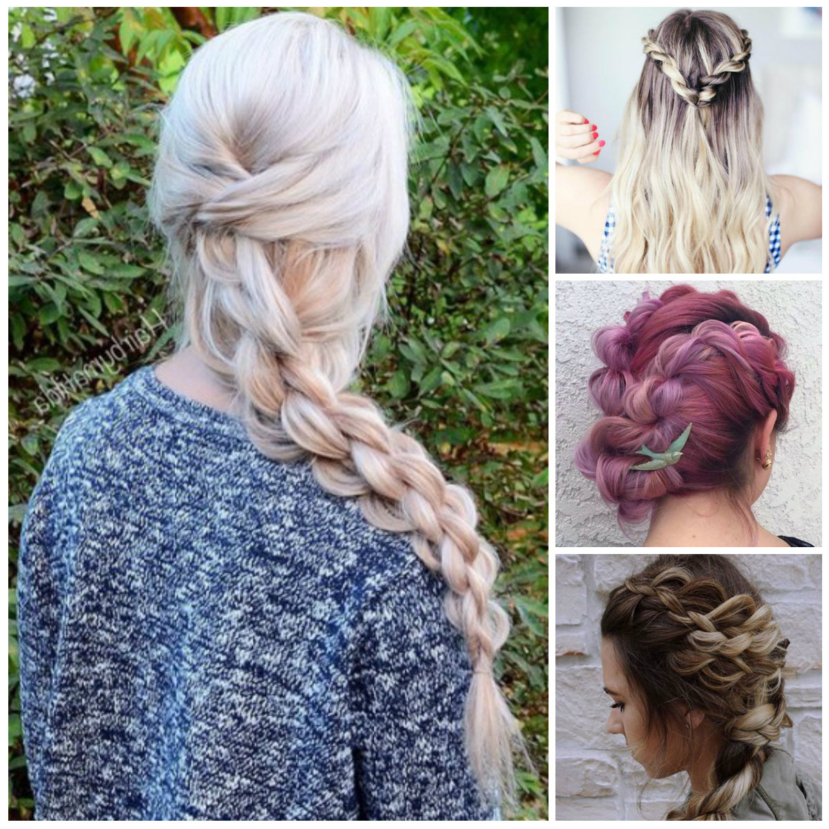Featured Photo of Casual Rope Braid Hairstyles