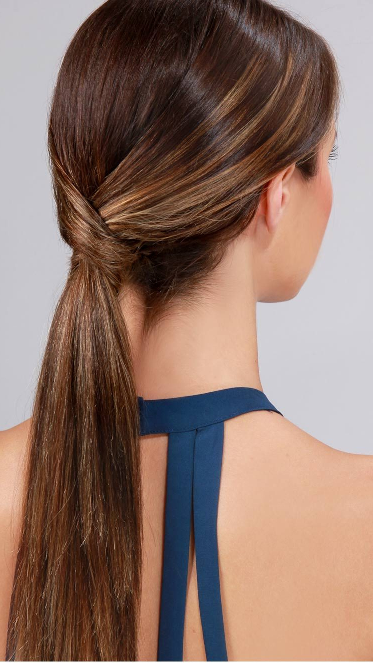 2019 Low Ponytail Hairstyles Within Easy Ponytails To Try This Summer – See Mama Go (View 2 of 20)
