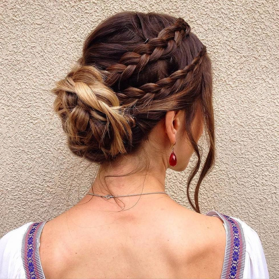 2019 Multi Braid Updo Hairstyles For 25 Refined Lace Braid Hairstyles — Classy Designs (View 3 of 20)