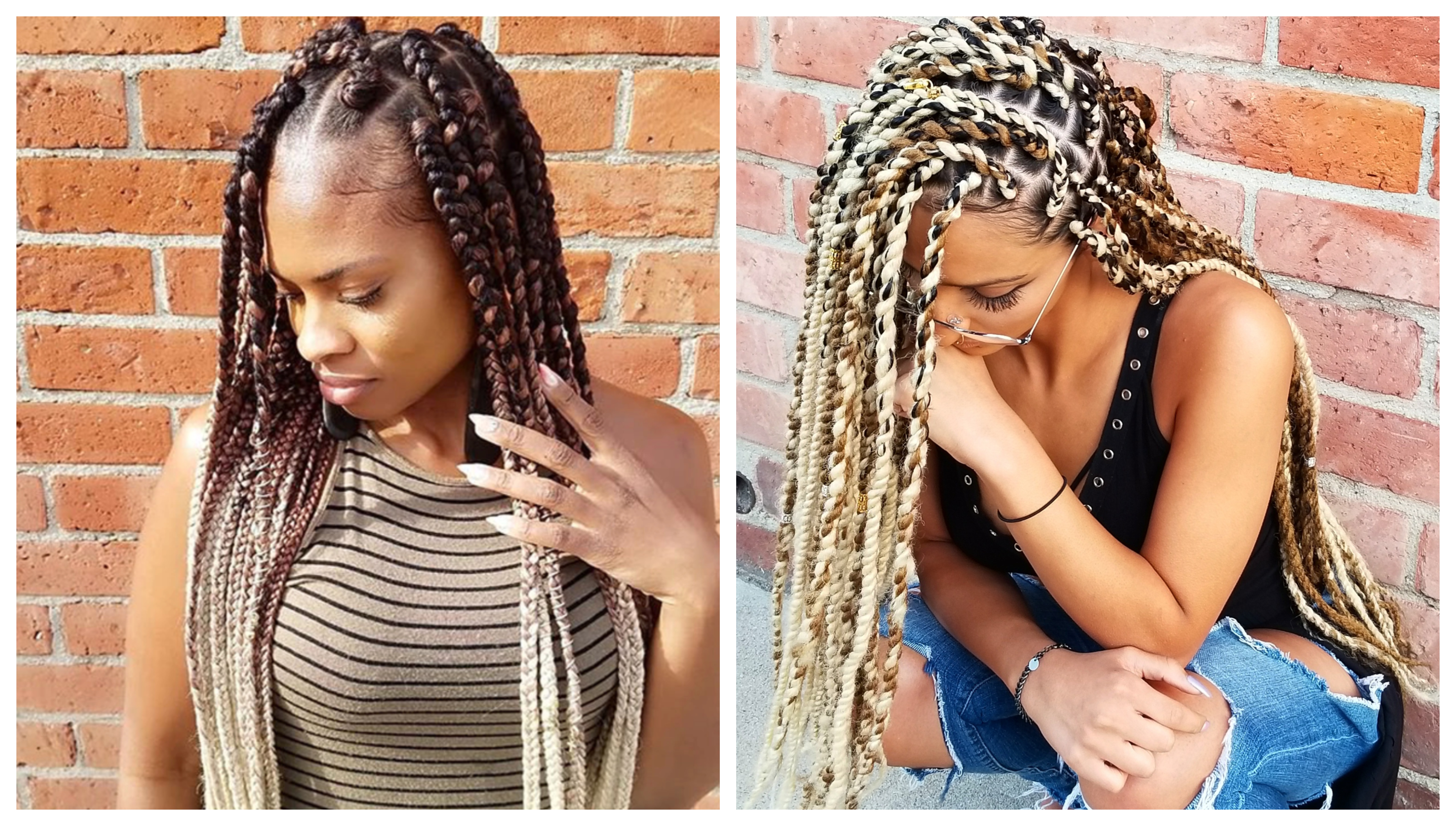 2019 Side Parted Micro Twist Hairstyles With Here's Everything You Need To Know About Getting Braids (View 11 of 20)