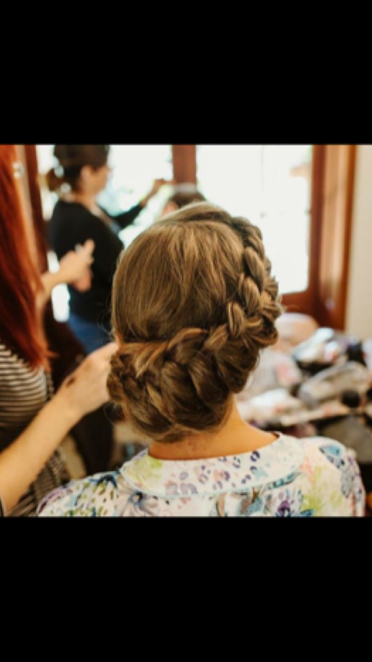 2019 Vintage Inspired Braided Updo Hairstyles Regarding Romantic Vintage Inspired Side Bun Braid (View 1 of 20)