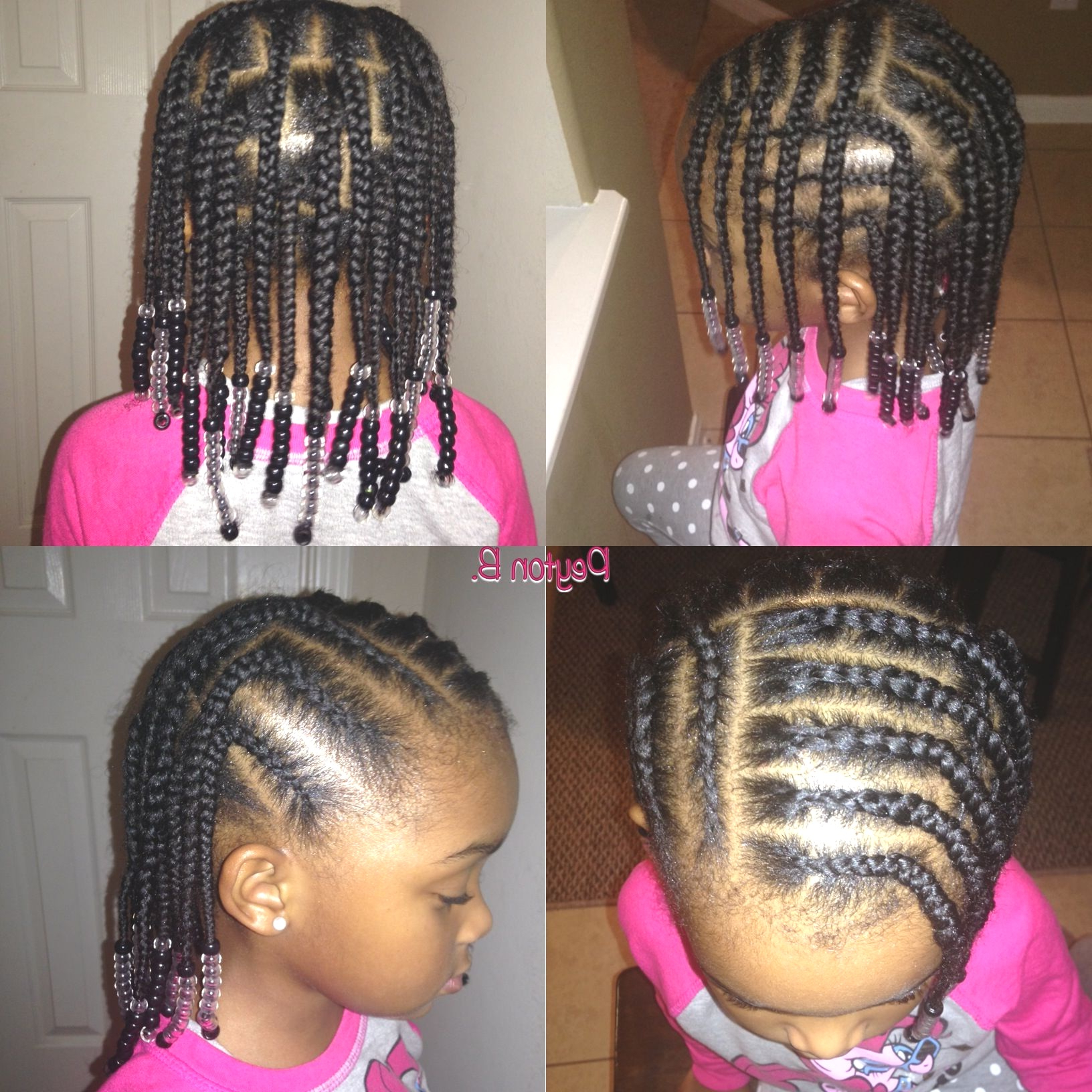 2020 Box Braids And Beads Hairstyles Inside Hairstyles : Natural Braided Hairstyles For Kids Super Box (View 16 of 20)