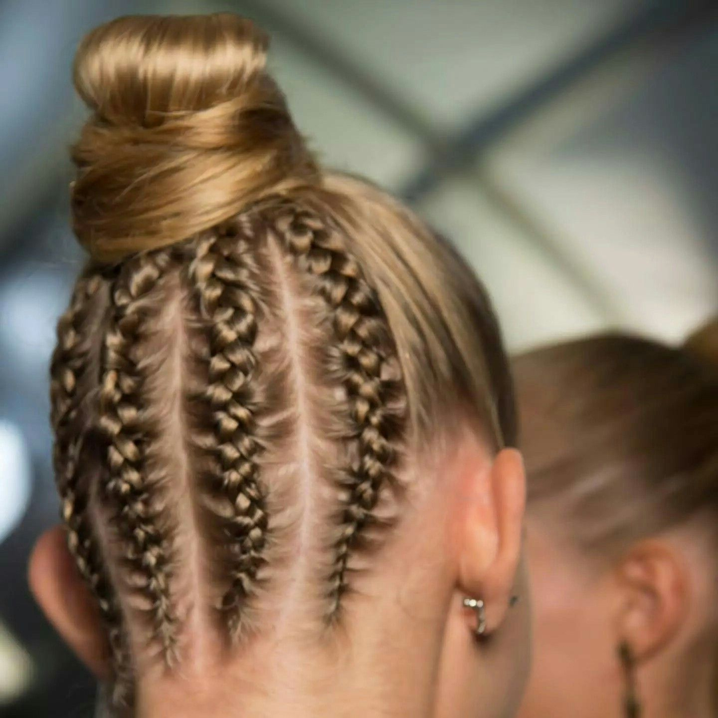 2020 Braided Underside Hairstyles For If You're Going To Put You're Hair In A Bun This Season (View 14 of 20)