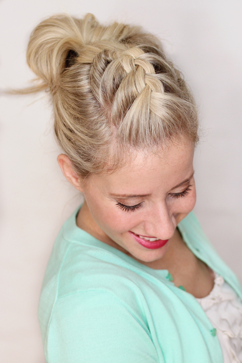 2020 Chunky French Braid Chignon Hairstyles Within 50 Fabulous French Braid Hairstyles To Diy – More (View 19 of 20)