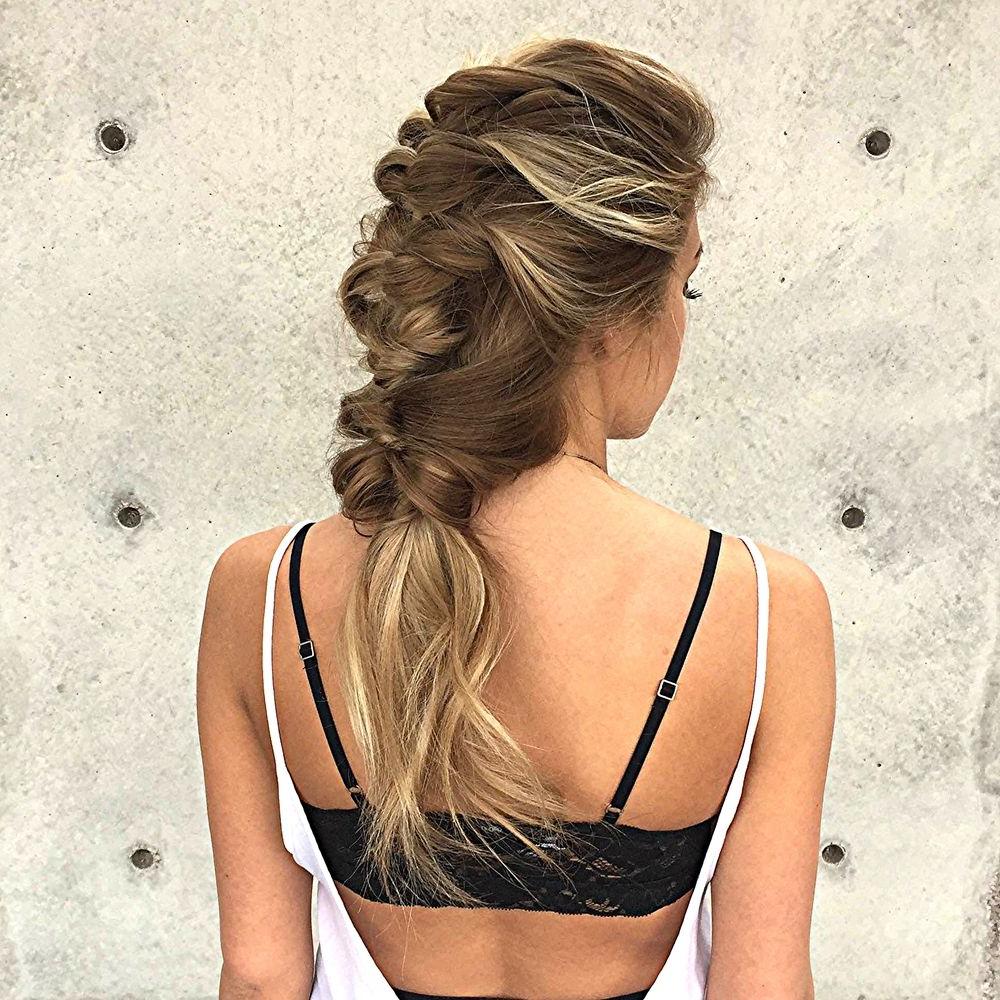 2020 Flawless Mermaid Tail Braid Hairstyles In Mermaid Topsy Tail (View 4 of 20)
