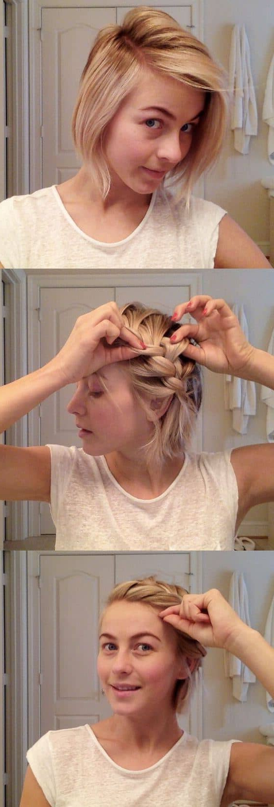 2020 Long And Short Bob Braid Hairstyles Throughout 27 Braid Hairstyles For Short Hair That Are Simply Gorgeous (View 2 of 20)