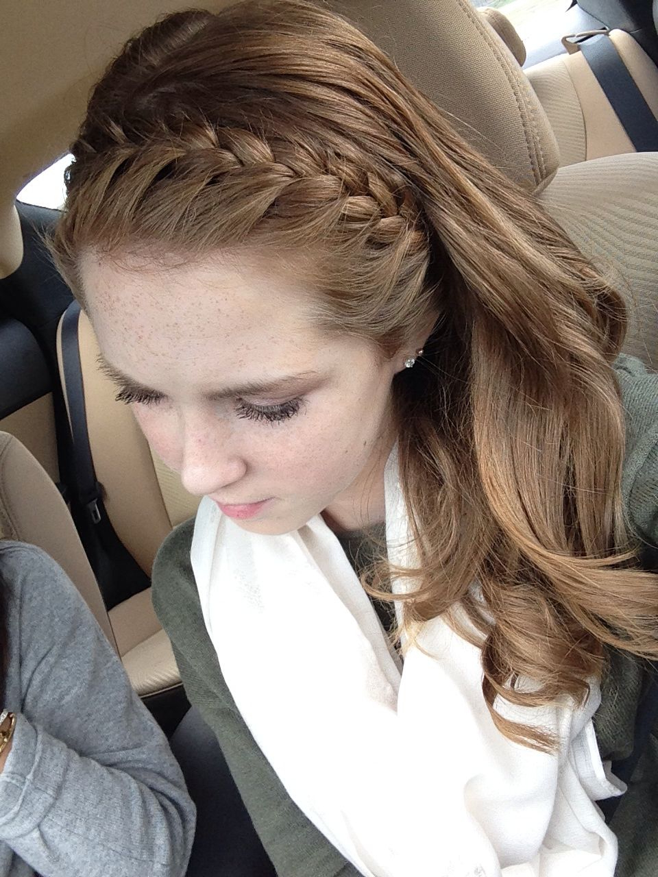 2020 Loose 4 Strand Rope Braid Hairstyles With Headband Braid With Loose Curls (View 8 of 20)