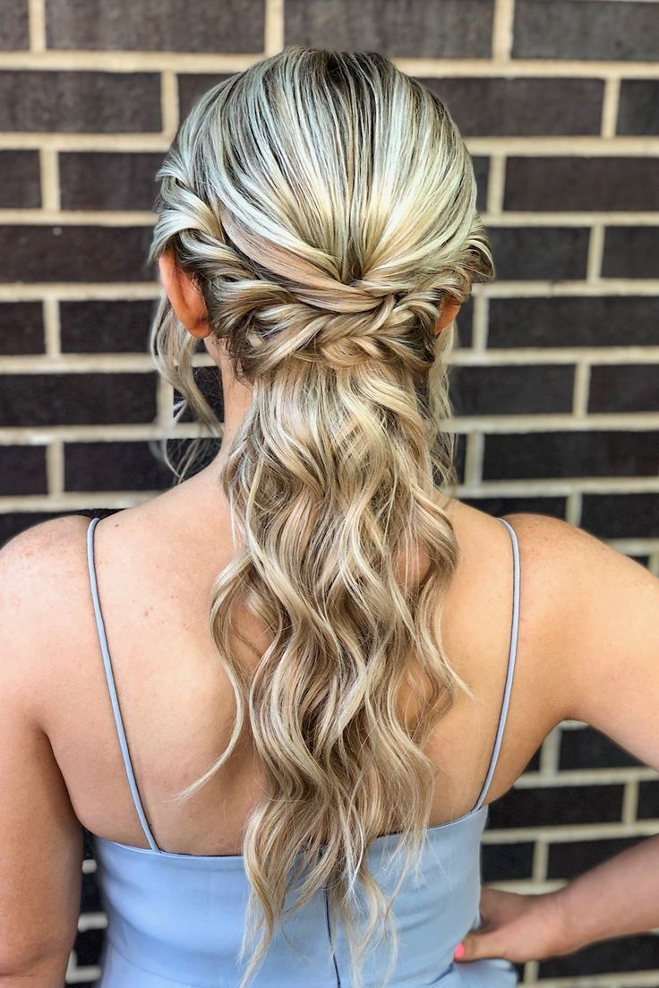 2020 Low Ponytail Hairstyles Intended For Romantic Curls + Boho Braids In A Low Ponytail Hairstyle (View 3 of 20)