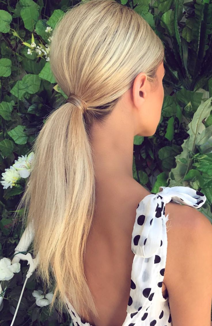 2020 Low Ponytail Hairstyles With Regard To Sleek Ponytail With Volume (View 4 of 20)