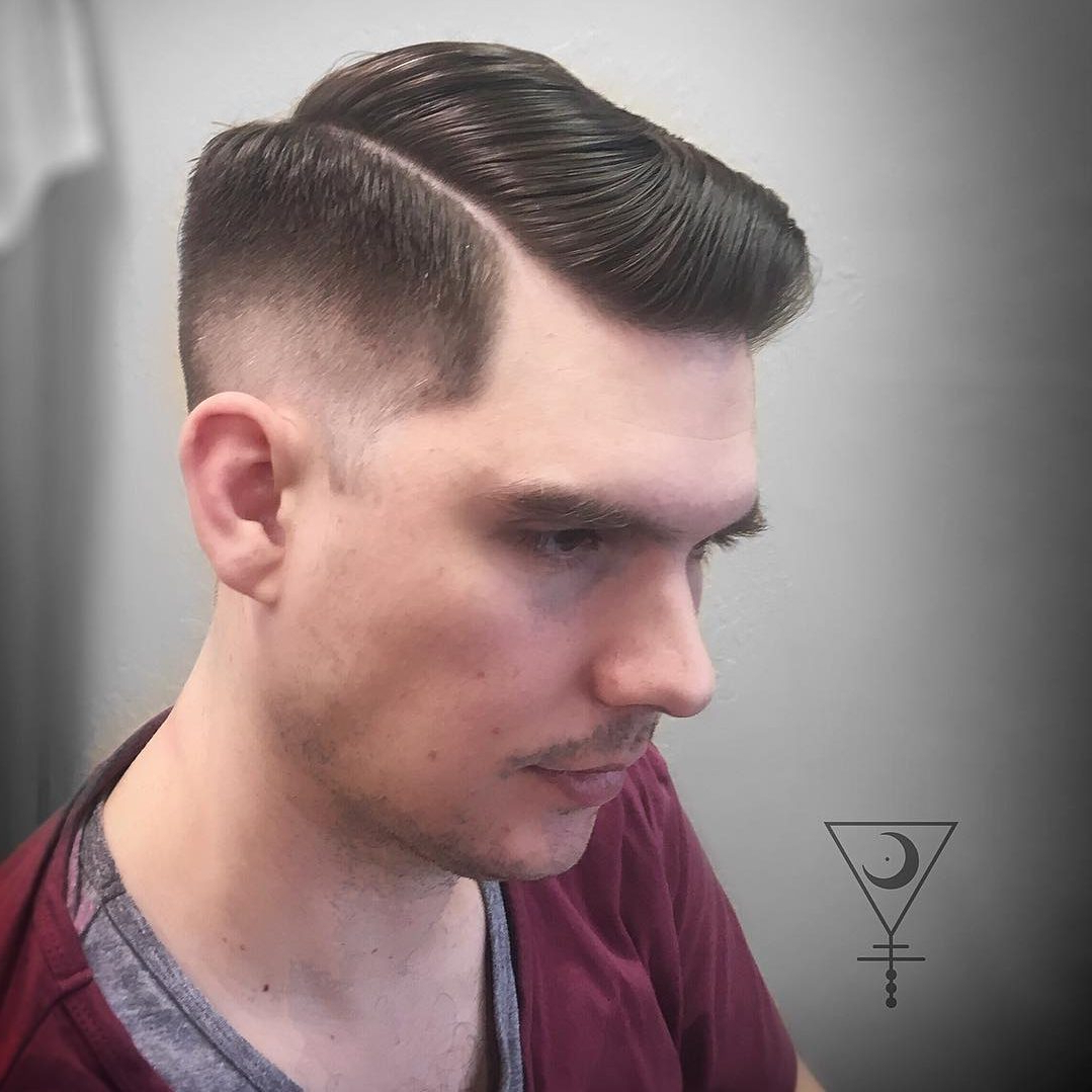 21 Side Part Haircuts (Cool + Modern) Intended For Well Liked Simple Side Part Hairstyles (View 11 of 20)