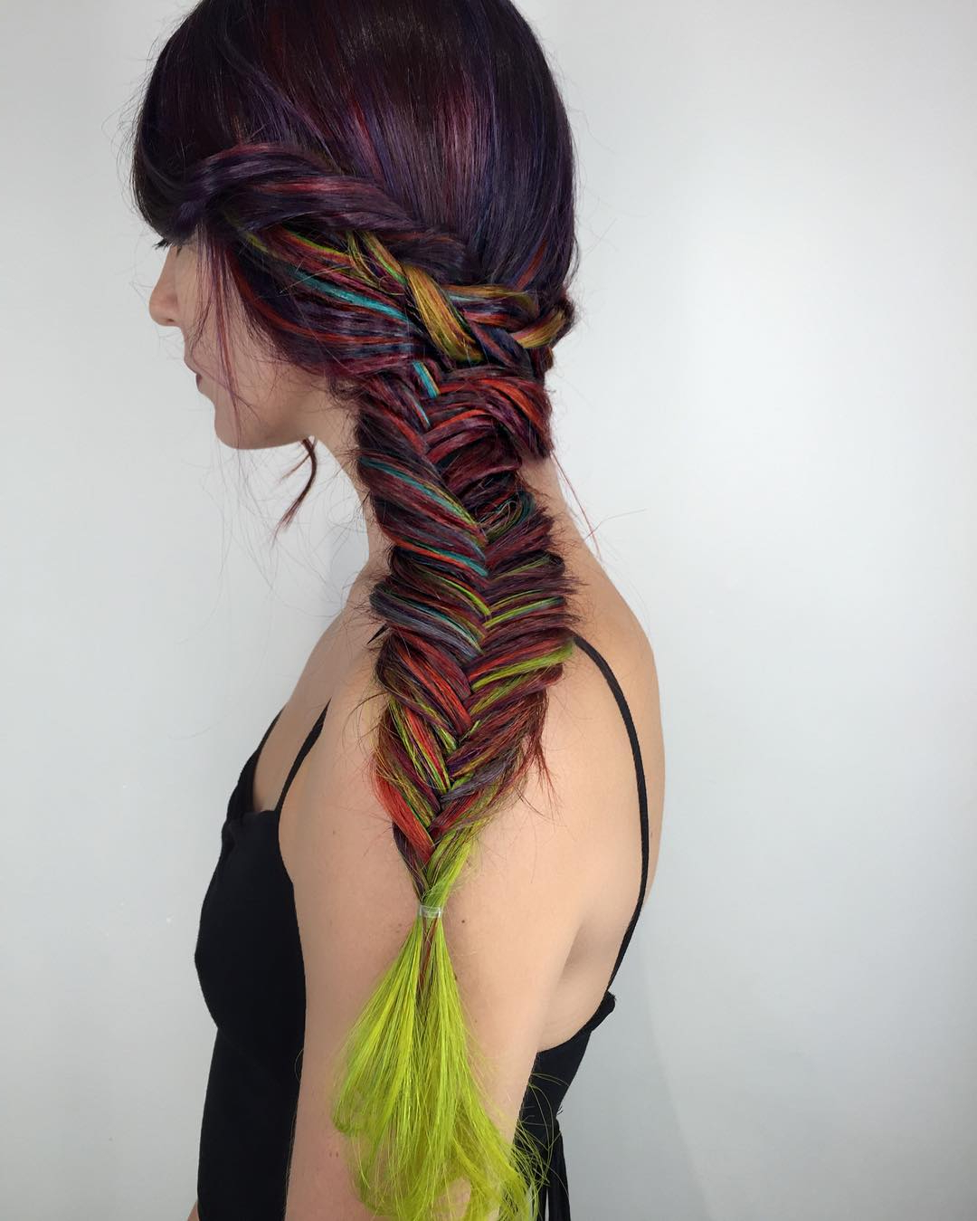 25 Cute Fishtail Braid Hairstyles: Secrets Of Braiding Revealed Throughout Popular Multicolored Bob Braid Hairstyles (View 20 of 20)