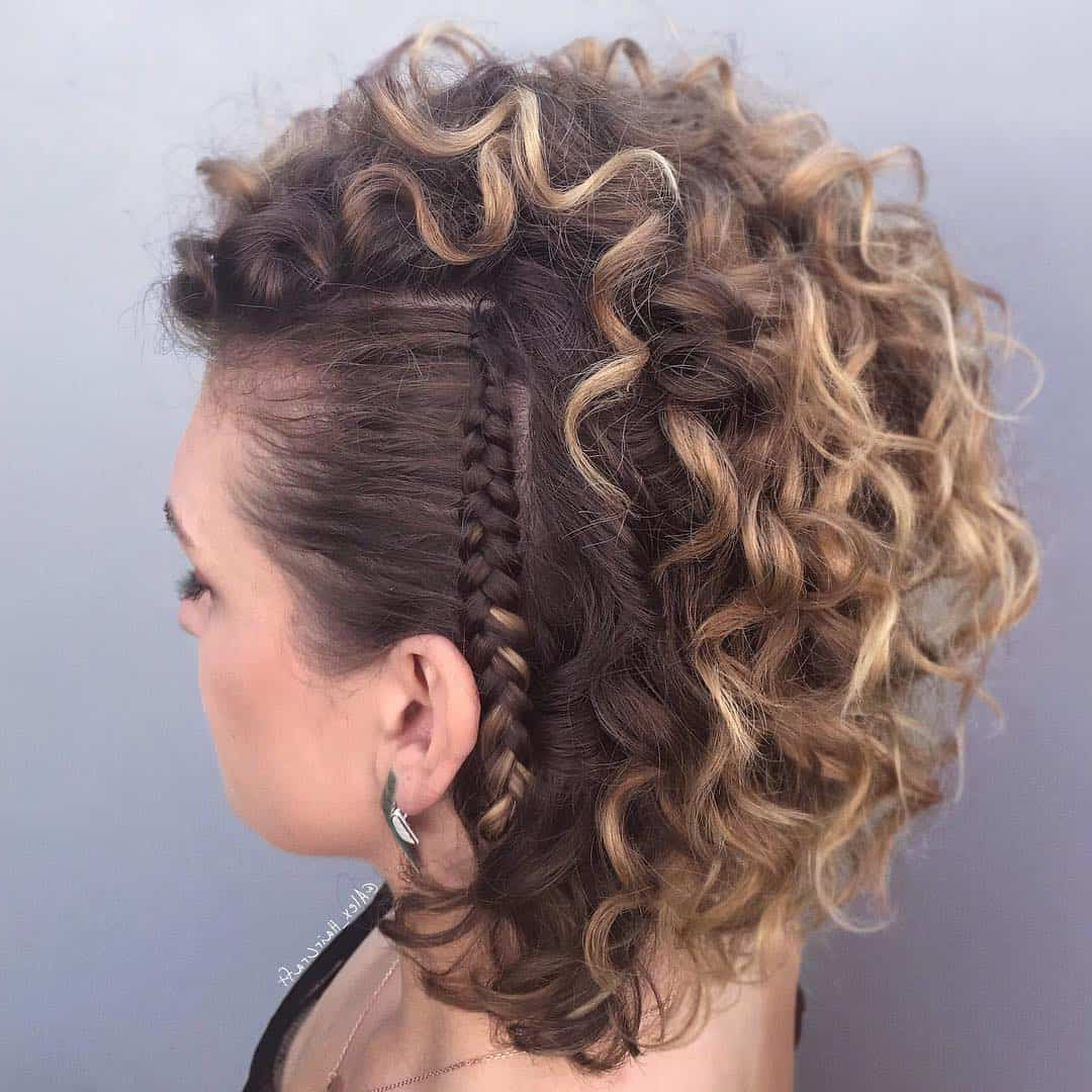 25 Side Braid Hairstyles Which Are Simply Spectacular – Wild Inside Famous Updo Hairstyles With 2 Strand Braid And Curls (View 4 of 20)