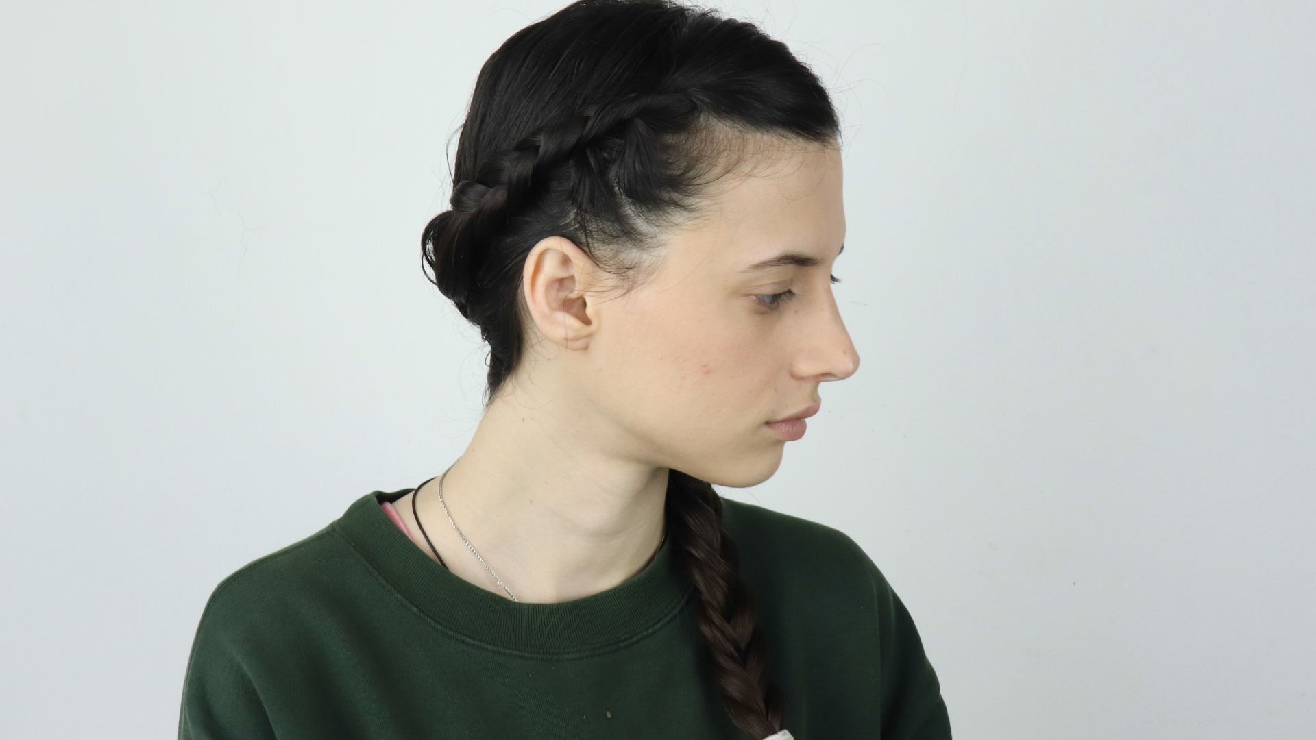 3 Ways To Do A Fishtail Side Braid – Wikihow For Most Recently Released Over The Shoulder Mermaid Braid Hairstyles (View 18 of 20)