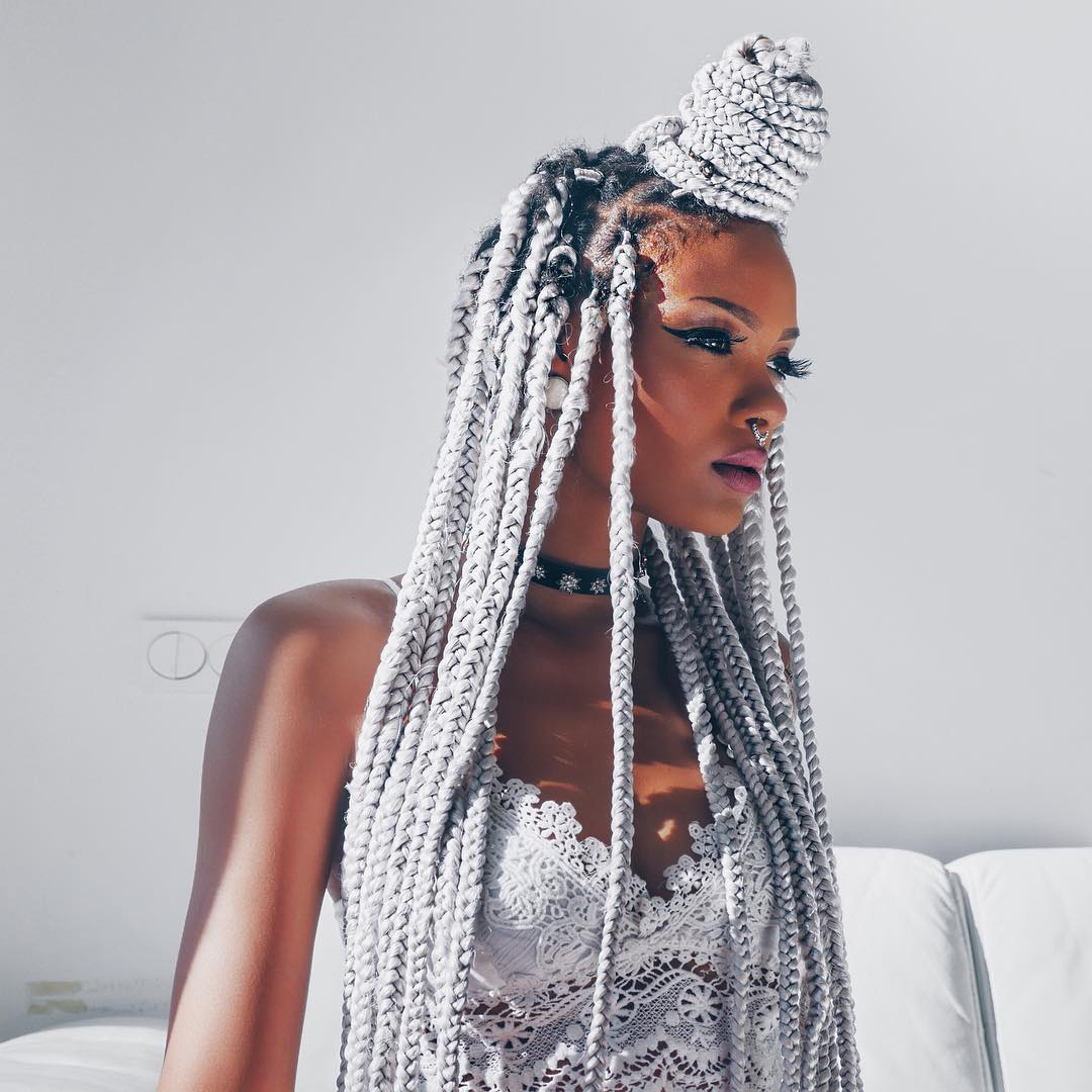 30 Cool Yarn Braids Styles — Protection And Perfection Intended For Well Known Side Swept Yarn Twists Hairstyles (View 8 of 20)
