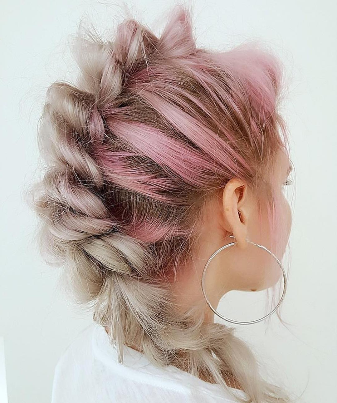 30 Rope Braid Hairstyles Looking Both Casual And Fancy Inside Most Current Casual Rope Braid Hairstyles (View 7 of 20)