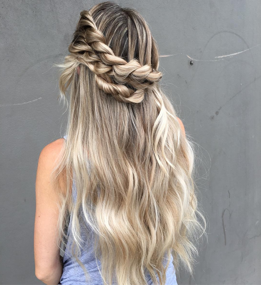 30 Rope Braid Hairstyles Looking Both Casual And Fancy Within 2019 Casual Rope Braid Hairstyles (Gallery 17 of 20)