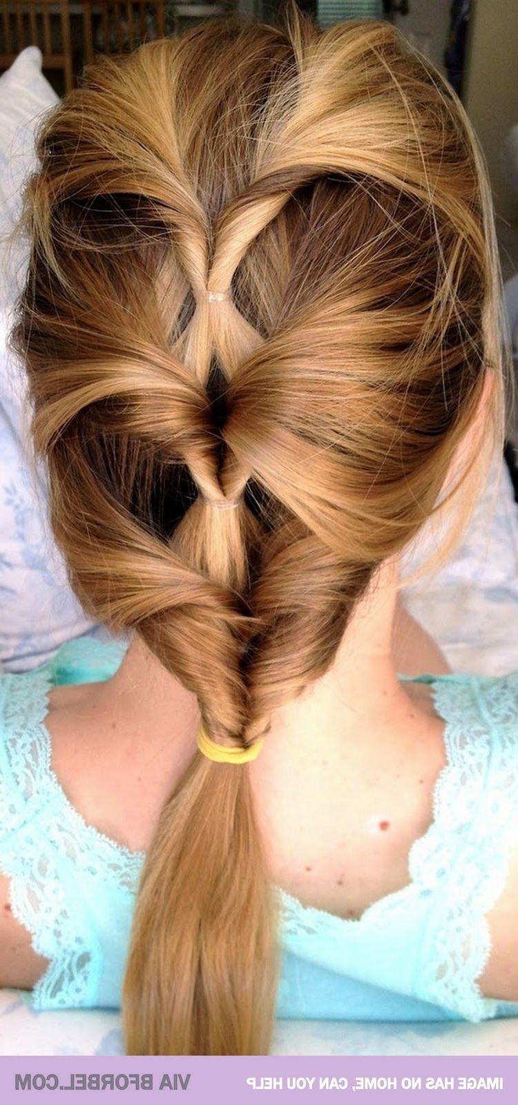 30 Simple And Easy Hairstyles For Straight Hair In 2019 Throughout Most Popular Mermaid Inception Braid Hairstyles (Gallery 3 of 20)