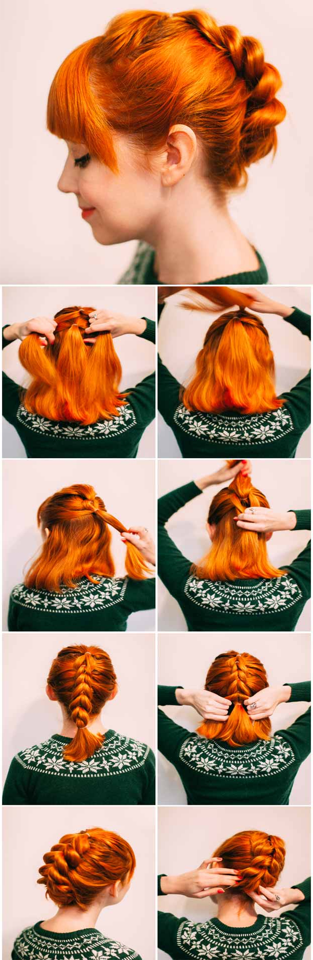 31 Wedding Hairstyles For Long Hair – The Goddess Within Most Recently Released Red, Orange And Yellow Half Updo Hairstyles (View 17 of 20)