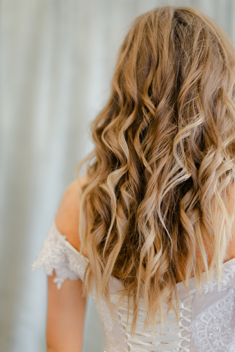 32 Wedding Hairstyles For Long Hair You'll Want To Copy Regarding Most Current Headband Braided Hairstyles With Long Waves (Gallery 10 of 20)