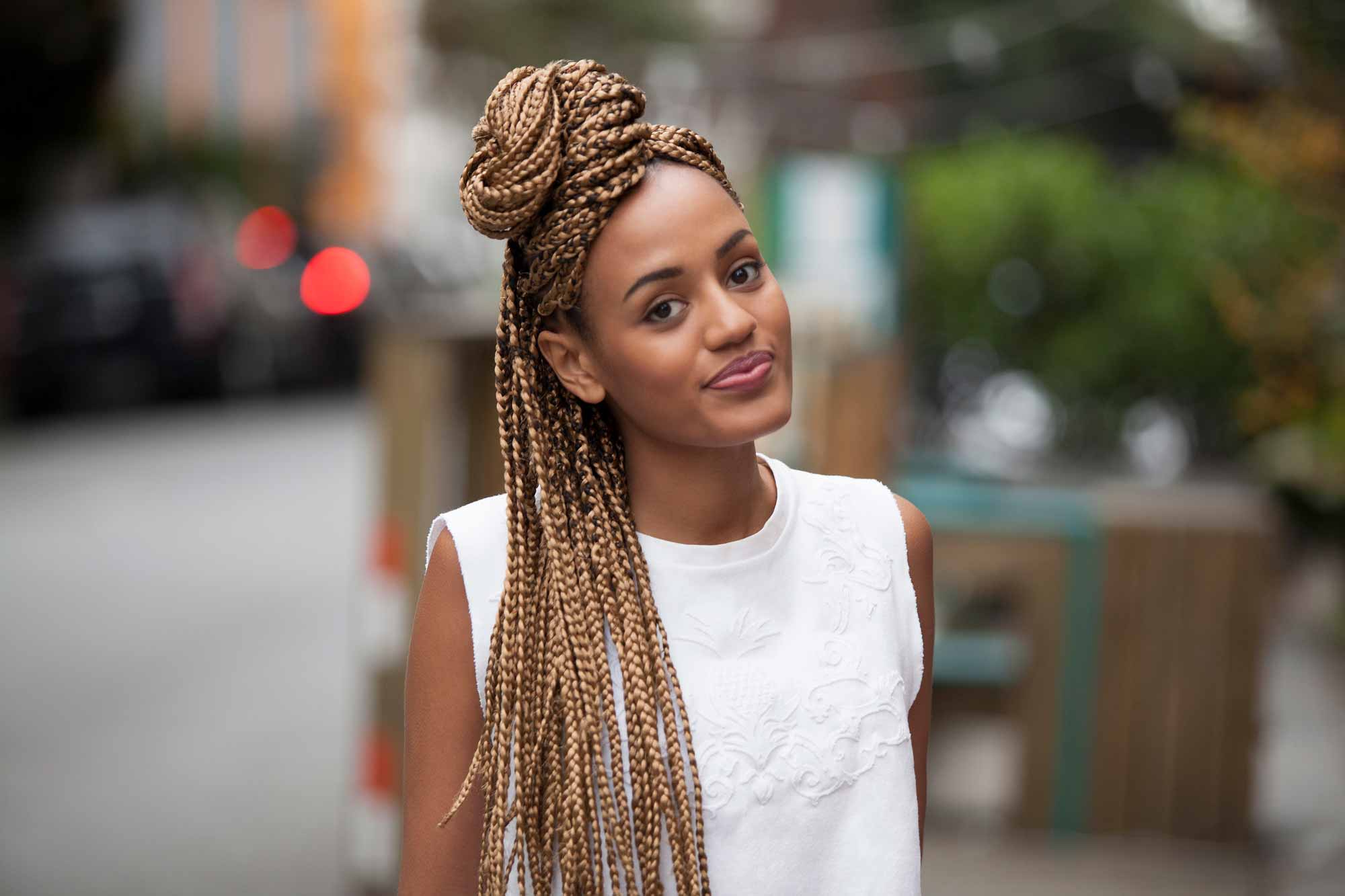 33 Braid Styles We Love And A Tutorial On How To Create Your Own Inside Preferred Back And Forth Skinny Braided Hairstyles (View 8 of 20)