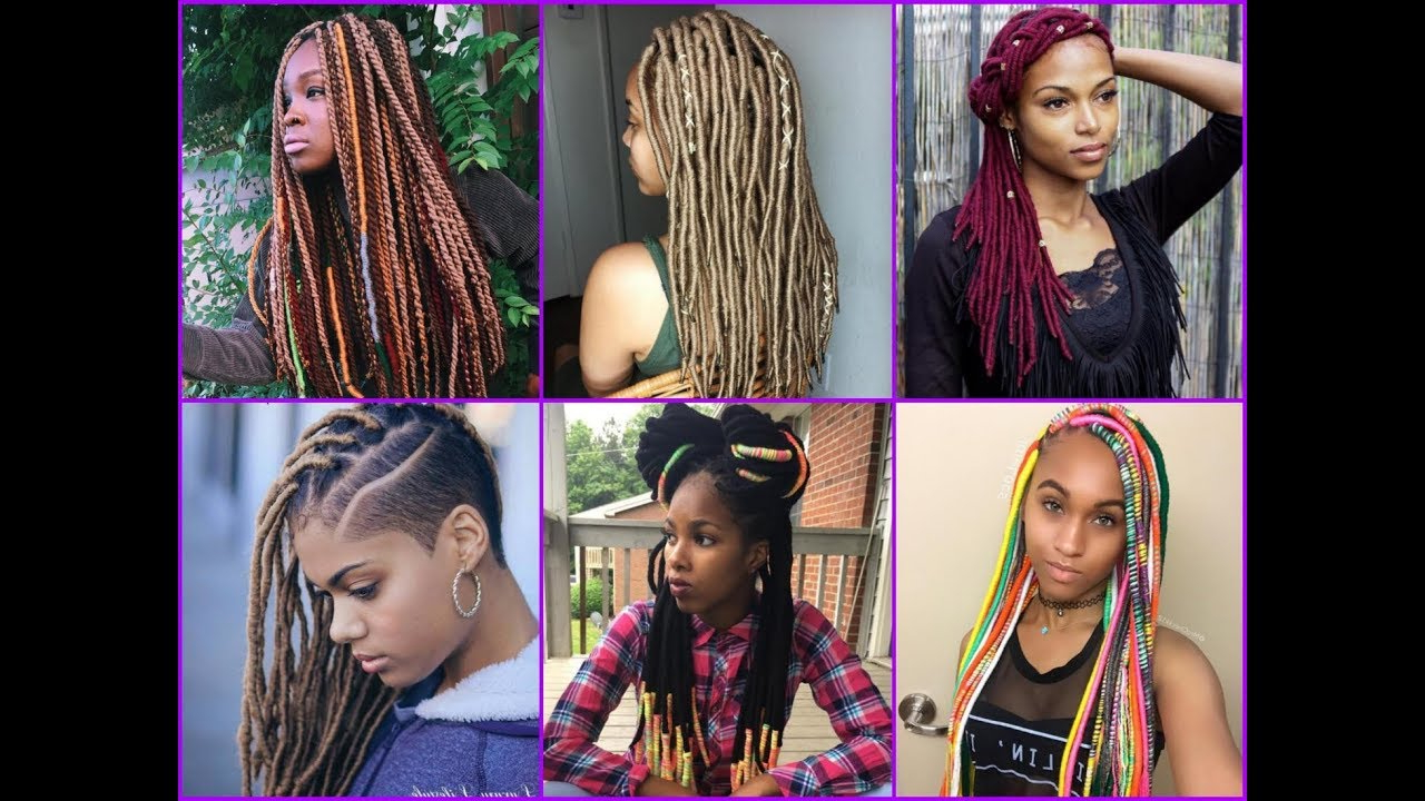 35 Amazing Yarn Braids Hairstyles For African American Womens Within Most Popular Colorful Yarn Braid Hairstyles (Gallery 6 of 20)