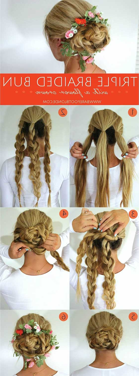40 Braided Hairstyles For Long Hair In Most Recently Released Double Crown Updo Braided Hairstyles (View 19 of 20)