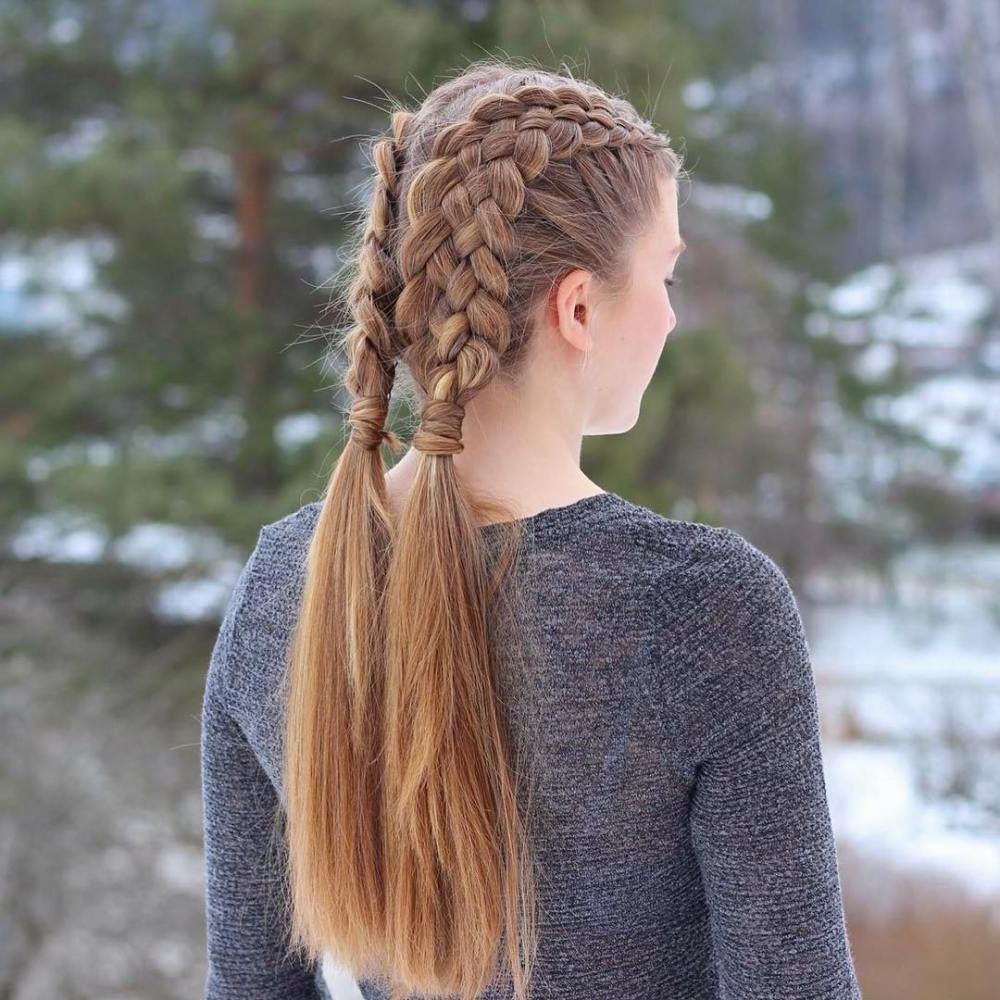 40 Different Styles To Make Braid Hairstyles For Women Within Most Current Nostalgic Knotted Mermaid Braid Hairstyles (View 14 of 20)