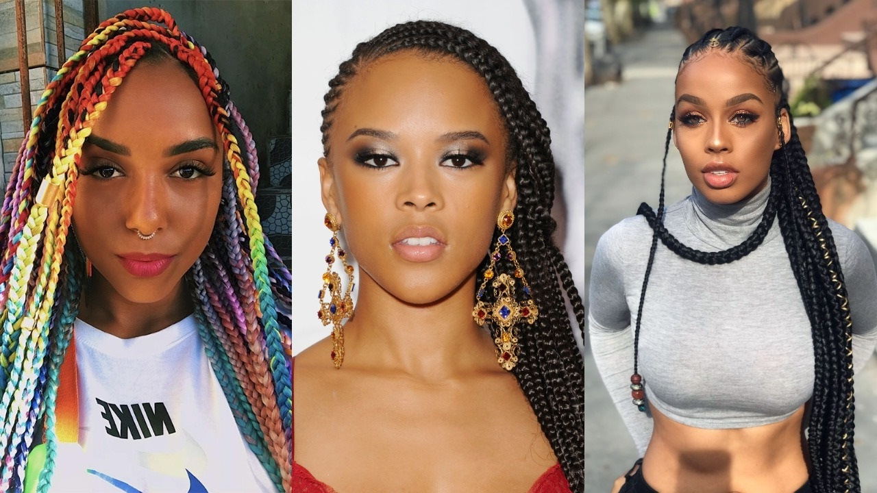 40 Stunning And Stylish Goddess Braids Hairstyles – Haircuts For 2019 Under Braid Hairstyles For Long Haired Goddess (View 3 of 20)