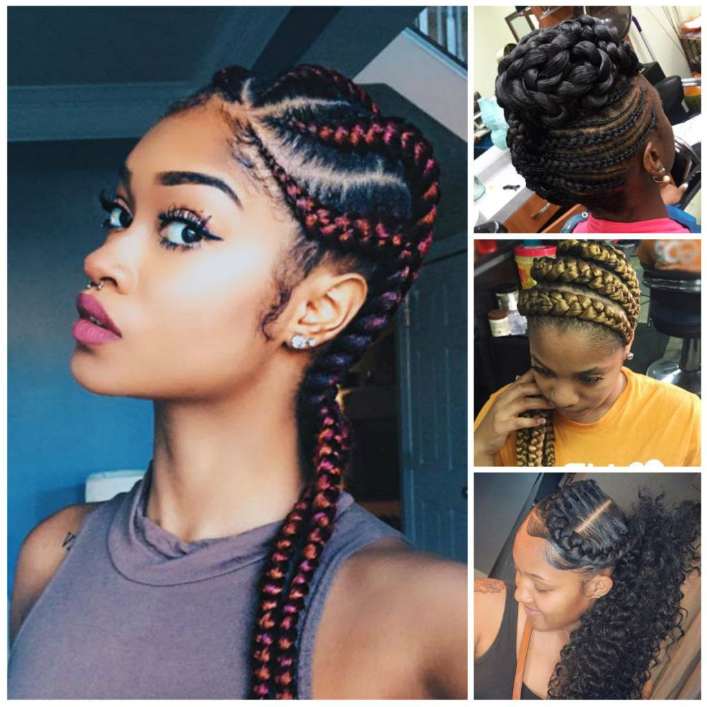 40 Stunning And Stylish Goddess Braids Hairstyles – Haircuts Regarding Latest Goddess Braided Hairstyles With Beads (View 5 of 20)