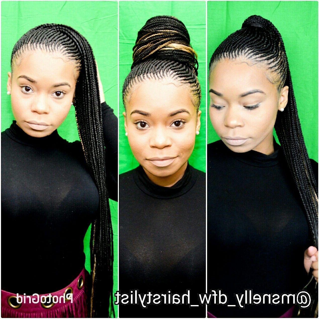 40+ Totally Gorgeous Ghana Braids Hairstyles (View 9 of 20)