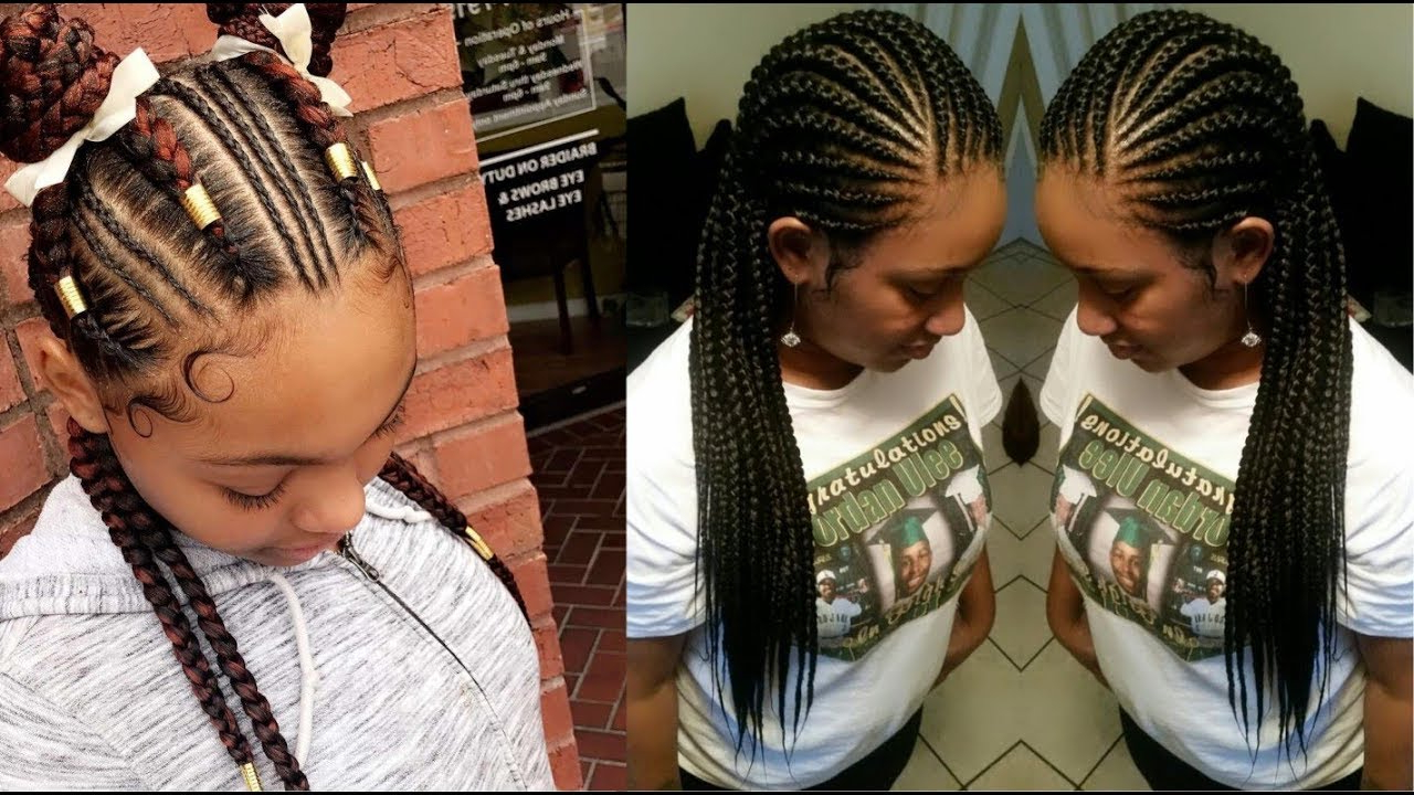 41 Goddess Braids Hairstyles For Black Women – Youtube Pertaining To Widely Used Goddess Braided Hairstyles With Beads (View 7 of 20)