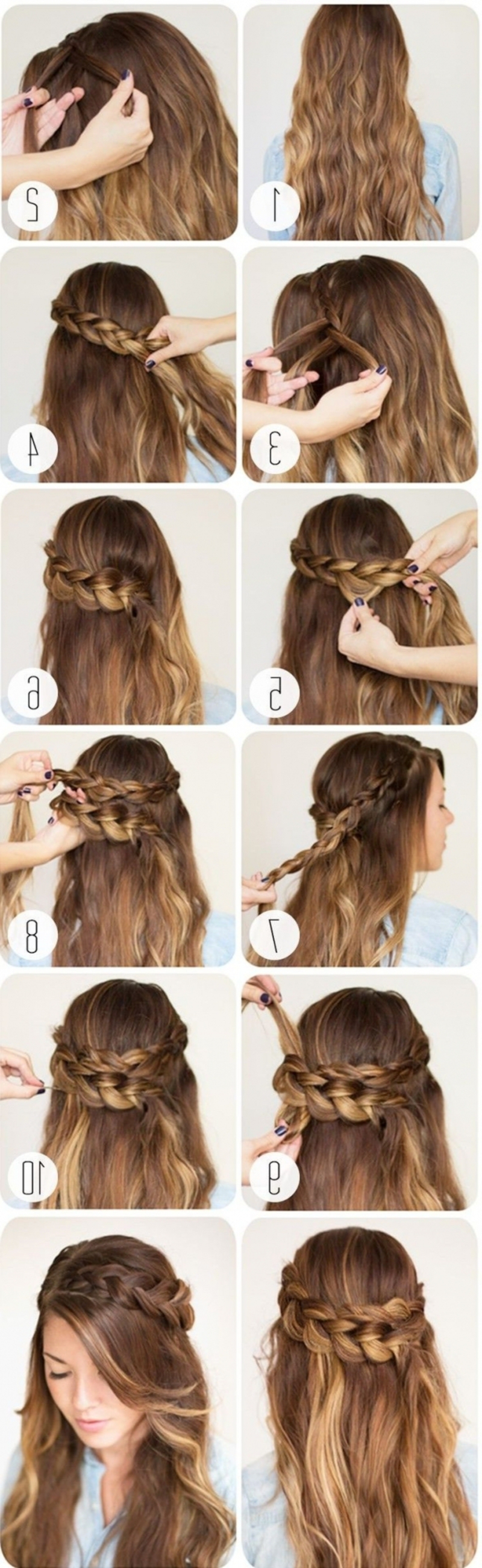 43 #fancy Braided #hairstyle Ideas From #pinterest Pertaining To Current Fancy Braided Hairstyles (View 20 of 20)