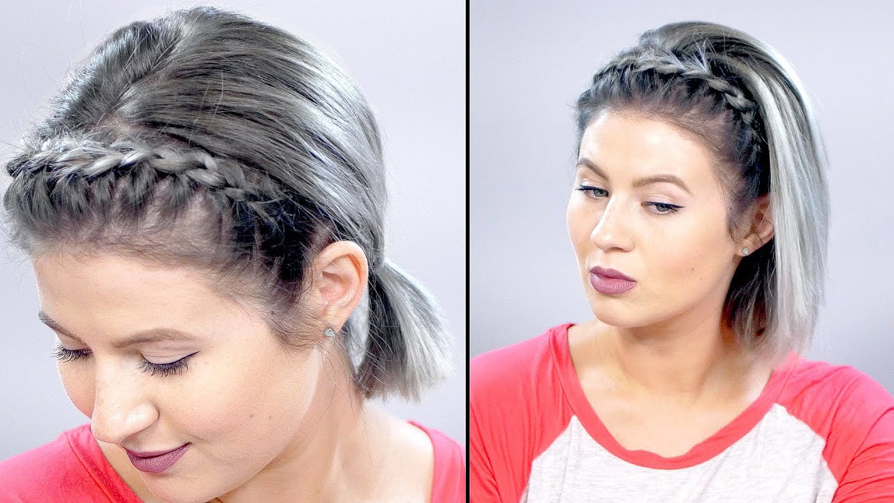 5 Best Braided Hairstyles For Short Hair – How To Braid For Popular Thick Two Side Fishtails Braid Hairstyles (View 5 of 20)