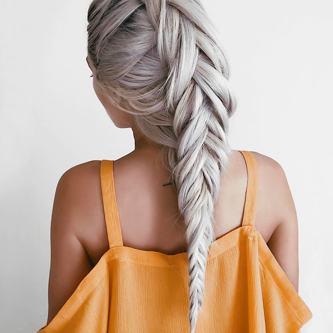 50 Braided Wedding Hairstyles We Love Regarding Newest Tight Braided Hairstyles With Headband (View 11 of 20)